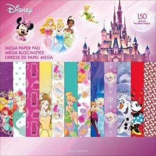 imagen Disney Single-Sided Mega Paper Pad 12 Princesas