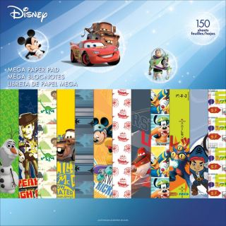 imagen Disney Single-Sided Mega Paper Pad 12 CHICOS