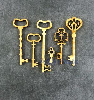 imagen Vintage keys (3mm)