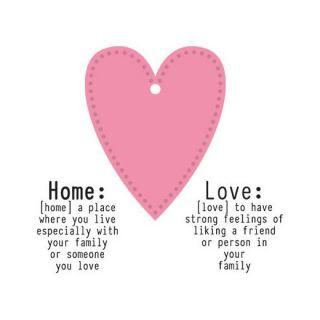 imagen Marianne Design COLLECTABLES Cut & Emboss troquel/sellos LOVE HOME