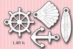 imagen Die-namics Sea Charms 4 troqueles