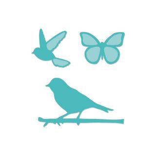 imagen Kaisercraft Dies Birds & Butterflies 1