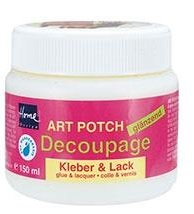 imagen Art Potch decoupage glue and varnish glossy