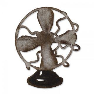 imagen Sizzix Bigz Die - Vintage Fan