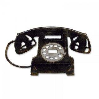 imagen Sizzix Bigz Die - Vintage Telephone