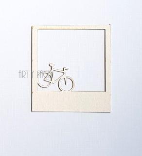 imagen Polaroid frame bicycle