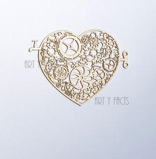 imagen Steampunk heart