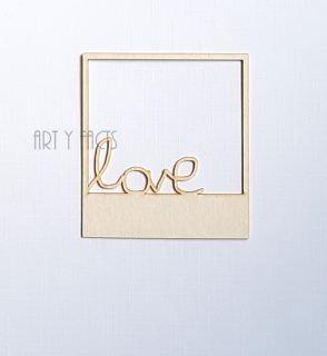 imagen Polaroid Frame LOVE
