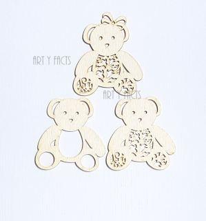 imagen Teddy bears (3 pcs)