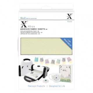 imagen Xtras Adhesive Fabric sheets A5 (10 pcs)