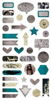 imagen Fortune-teller - Die-cut Elements 6x12