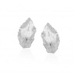 imagen Pendientes plata omega