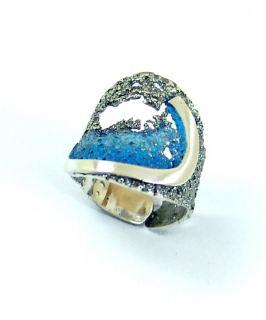 thumb Anillo de plata LUAR joyas de autor