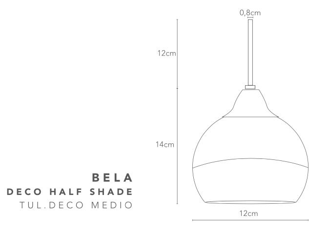 thumb 1540/1C/CR/BEP COLGANTE CROMO CRISTAL BELA PAN DE PLATA 1X E27 30CM - SERIES M.I.S.
