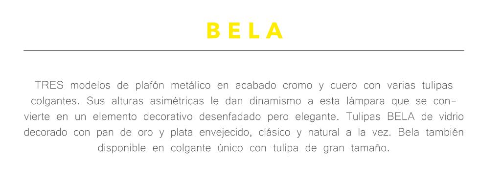 thumb 1540/3P/CU/BEO PLAFÓN CUERO ALTURAS 3E14 TUL.BELA ORO - SERIES M.I.S.