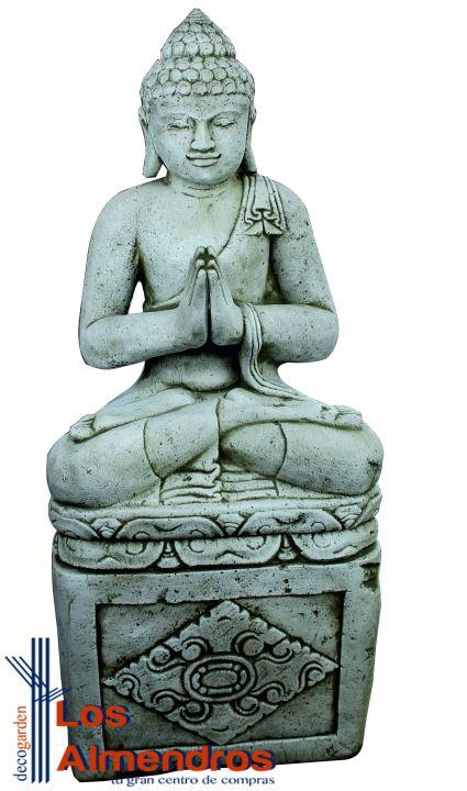 Banca Oriental Telefono:Buda Grande con Pedestal 121cm