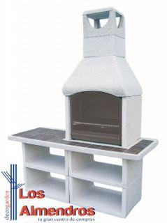 imagen Barbacoa Prefabricada de Piedra Artificial Georgie
