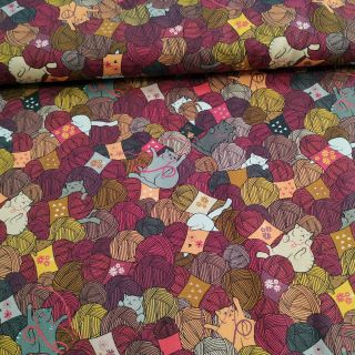 tela patchwork KNITTING NOOK