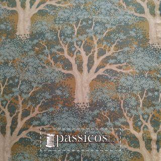 imagen Tela Juniper Blue Woodland