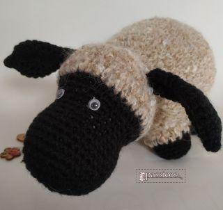 Amigurumi oveja