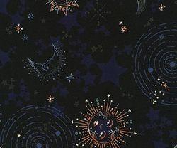 Luna Astral Con Metálico