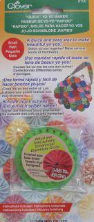 Molde para hacer yo-yos clover (30mm)