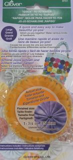 Molde para hacer yo-yos clover (45mm)