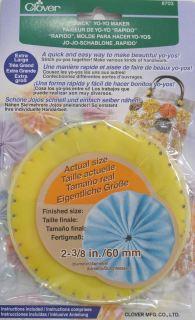 Molde para hacer yo-yos clover (60mm)