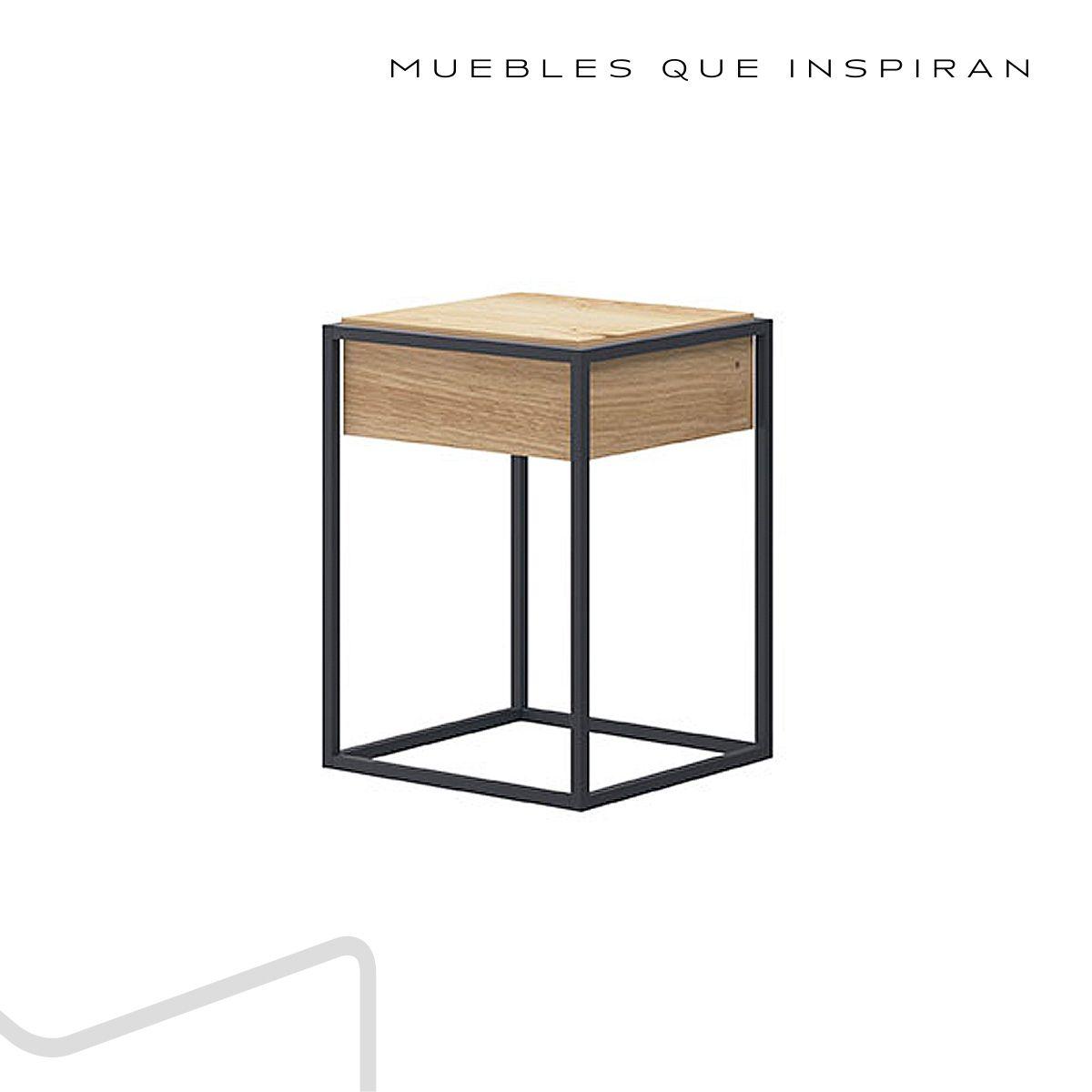 MESA AUXILIAR CUBE MUBANA PERFIL