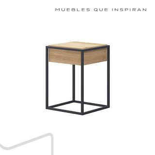 MESA AUXILIAR CUBE Mobles Rossi PERFIL