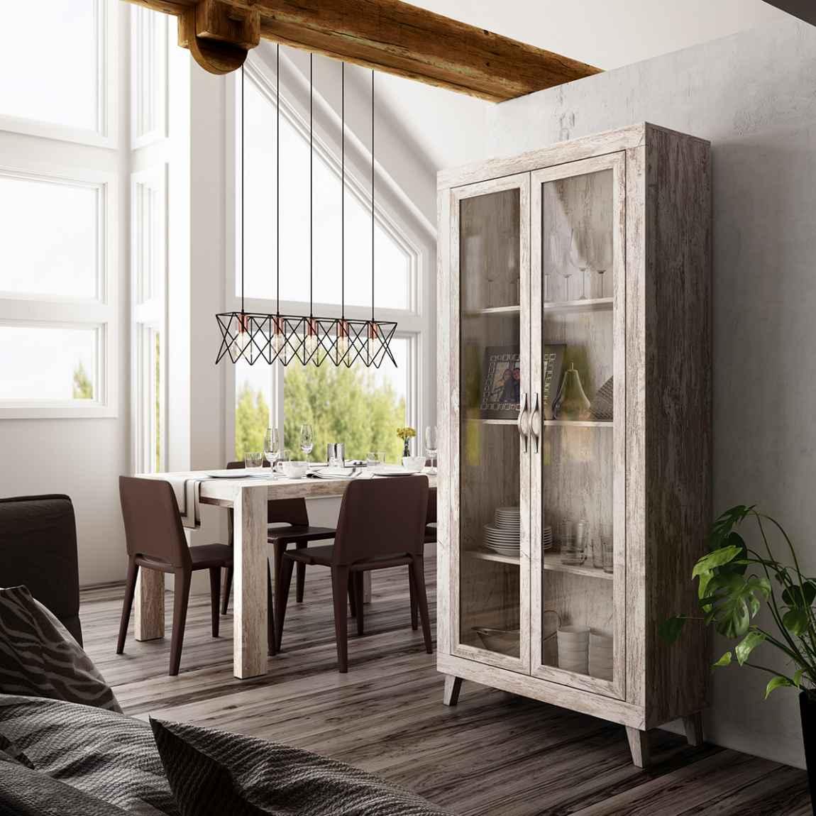 VITRINA DE PARED Nordic Style Mobles Rossi