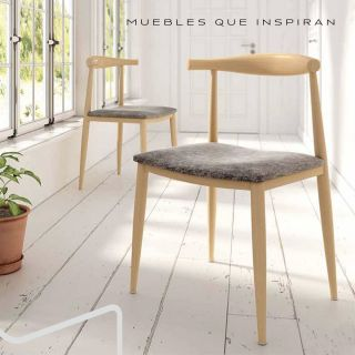 SILLA NATURAL STYLE Mobles Rossi
