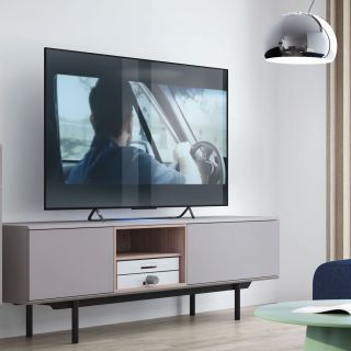 MUEBLE TV (175) ACERO MUBANA