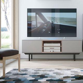 MUEBLE TV (150) ACERO MUBANA