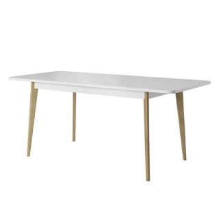 MESA DE COMEDOR EXTENSIBLE CLEAR LIGHT MUBANA