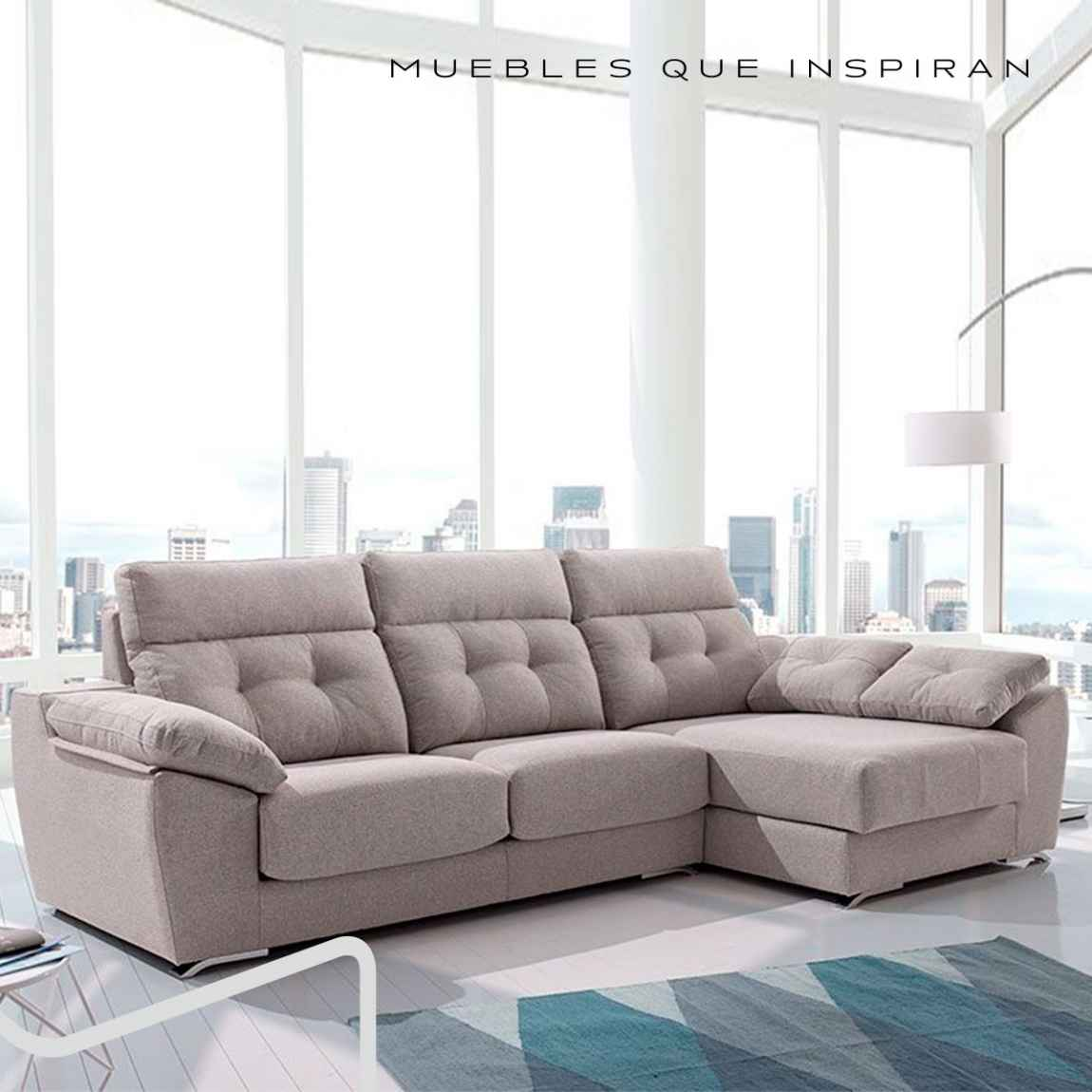 CHAISE LONGUE ÚNICO Mobles Rossi