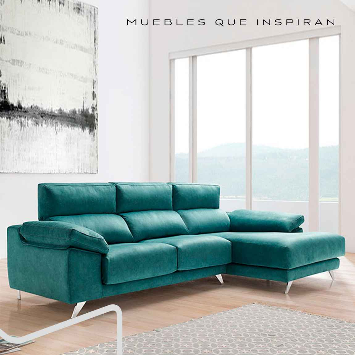 CHAISE LONGUE OCÉANO Mobles Rossi