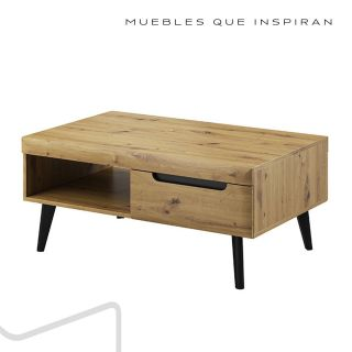 MESA CENTRO NATURAL WOOD MUBANA