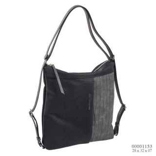 thumb woman backpack cross-body bag