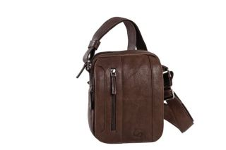 Shoulder bag leather Wash