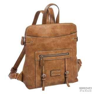 mochila para mujer cuero