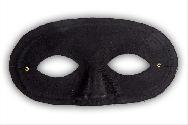 Antifaz con nariz negro