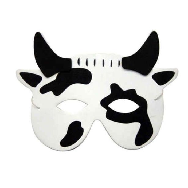 Antifaz Para Imprimir De Vaca
