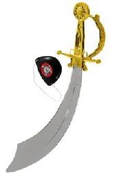 imagen Espada pirata con parche