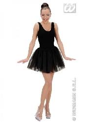 Falda tutu negra