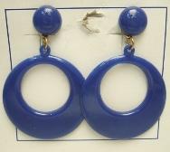 imagen Pendientes sevillana pequeños azul