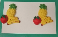 Pendientes fruta