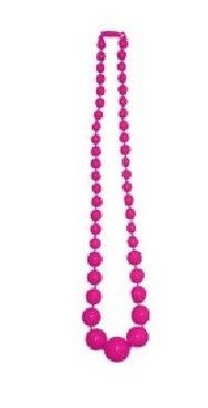 imagen Collar de bolas fucsia