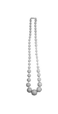 imagen Collar sevillana blanco