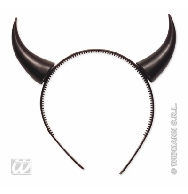 imagen Diadema cuernos negro